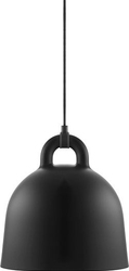 Lampa bell czarna small