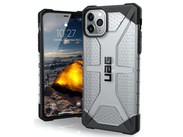 Etui uag urban armor gear plasma do apple iphone 11 pro max ice - przezroczysty
