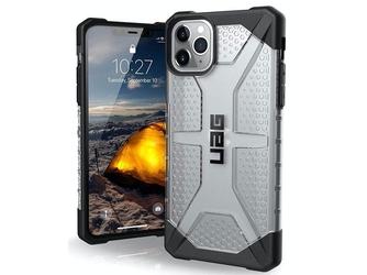 Etui uag urban armor gear plasma do apple iphone 11 pro max ice - przezroczysty