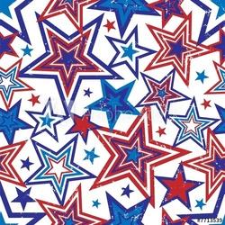 Board z aluminiowym obramowaniem ilustracja gwiazdy patriotyczne