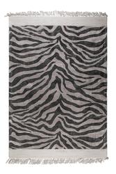 Bold monkey dywan zebra friendly 160x230 czarny bm60001