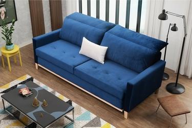 Sofa rozkładana bombaj z pojemnikiem scandi