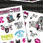 Monster High symbole - tatuaż