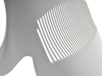 Fotel obrotowy brett biały