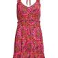 Letnia sukienka w kwiaty bonprix różowo-pomarańczowy w kwiaty