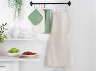 Fartuch kuchenny 100 bawełna altom design kolekcja monokolor beżowy