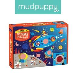 Puzzle mudpuppy z ukrytymi obrazkami - kosmos