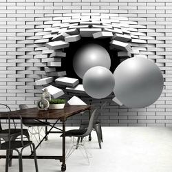 Fototapeta - cegła w ścianie