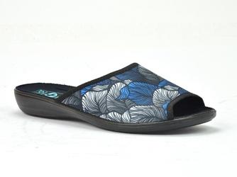 Pantofle  adanex 25452 granat