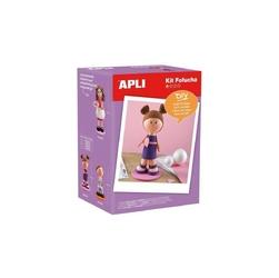 Zestaw artystyczny lalka fofucha apli kids -  dziewczynka
