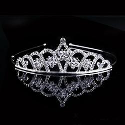 OPASKA DO WŁOSÓW ślubna DIADEM srebrna MOTYLE