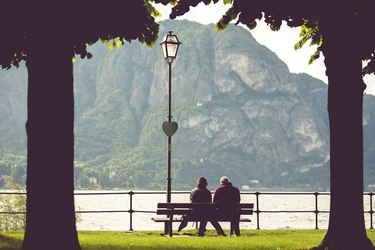 Zakochani - plakat premium wymiar do wyboru: 50x40 cm