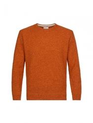 Sweter rudy melanż s