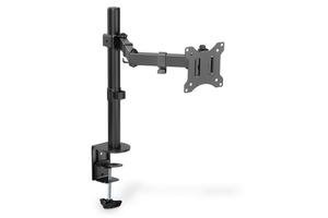 Digitus uchwyt biurkowy pojedyńczy z zaciskiem 1xlcd max. 32 cale max. 8 kg uchylno-obrotowy 270 pivot