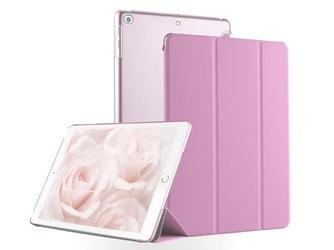 Etui do apple ipad 9.7 2017  2018 crystal smart case różowe - różowy