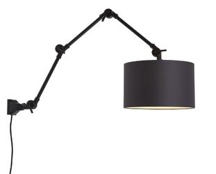 Its about romi lampa ścienna amsterdam 85cm, czarna, l amsterdamw3b3220
