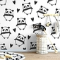 Pandaland - tapeta ścienna , rodzaj - tapeta flizelinowa
