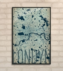 Londyn - artystyczna mapa