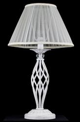 Lampa stołowa z przeźroczystym abażurem i kryształem grace maytoni classic arm247-00-g