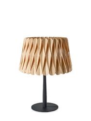 Lzf :: lampa stołowa lola mała brązowo-czarna wys. 40 cm
