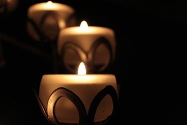 Fototapeta palące się świece fp 214