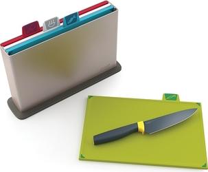 Deski do krojenia w etui Index New z nożem szefa