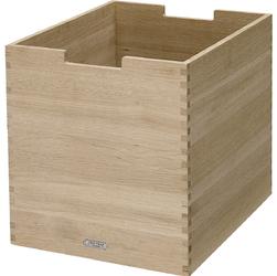 Duże, dębowe pudło na drobiazgi Cutter Skagerak S1920425