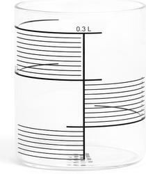 Szklanki 0,3 l w komplecie 4 szt. tre Square Stripes