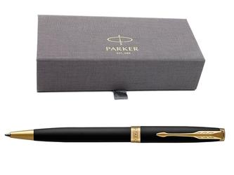 Parker sonnet gt długopis czarny mat w eleganckim etui