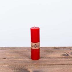 Świeca z wosku pszczelego d czerwona