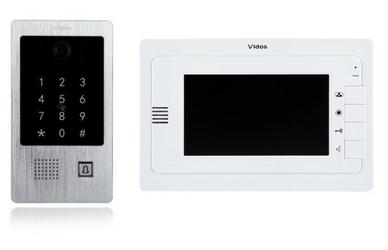 Wideodomofon vidos m323w  s20da sterowanie bramą - szybka dostawa lub możliwość odbioru w 39 miastach