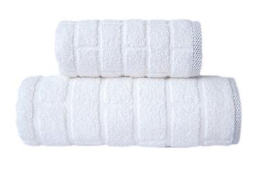 Ręcznik greno brick biały - biały