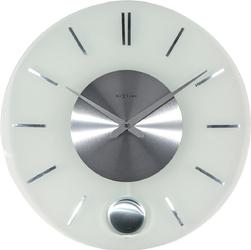 Zegar ścienny z wahadłem Stripe Nextime 40 cm 3145