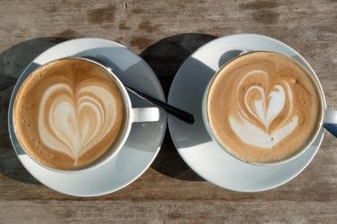 Fototapeta na ścianę dwie filiżanki kawy fp 1172