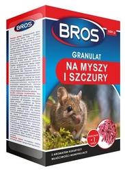 Bros, granulat na myszy i szczury, 500g