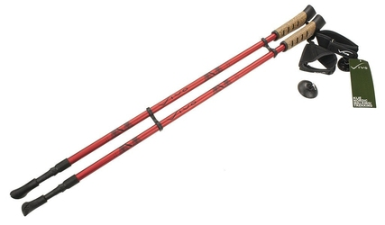 Kije nordic walking vivo nw205-1 red