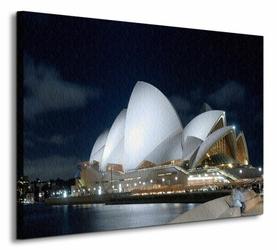 Sydney Night Panorama - Obraz na płótnie