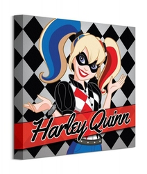 Dc comics harley quinn - obraz na płótnie