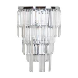 Kinkiet z prostokątnych kryształów adelard mw-light crystal 642023401