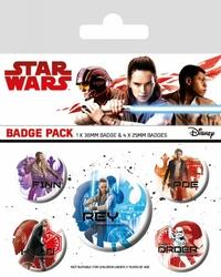 Star Wars The Last Jedi Icons - przypinki