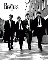 The beatles in london - plakat