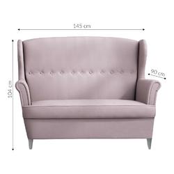 Sofa dwuosobowa bonami