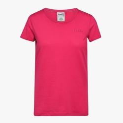Koszulka damska diadora l.ss t-shirt chromia - różowy