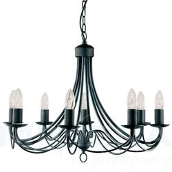 Maypole lampa wisząca 8 czarna