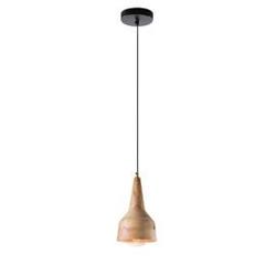 Lampa wisząca akis 18,5cm naturalne drewno
