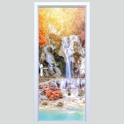 Fototapeta na drzwi wodospady 111p