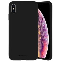 Mercury etui silicone iphone xs max czarny