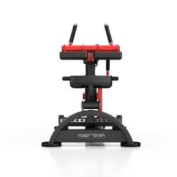 Maszyna na wolny ciężar na mięśnie łydek mf-u014 - marbo sport - czarny  antracyt metalic