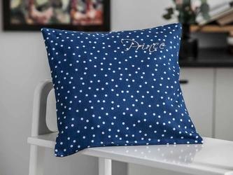 Poszewka na poduszkę altom design prince  princess 40 x 40 cm granatowa prince