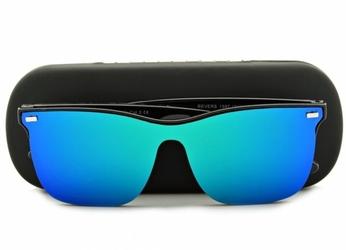 Okulary pełne lustro nerdy przeciwsłoneczne uv400 str-1597